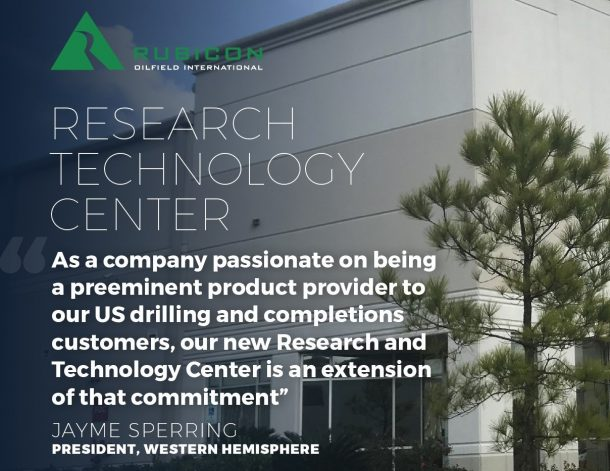 Rubicon Announces the Opening of a New Research and Technology Center